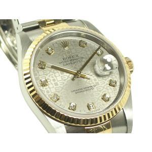 ロレックス 腕時計 16233G K18/SS 10P オートマ U番|e78nakaya