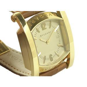 ブルガリ 腕時計 アショーマ AA39G K18YG/革 クオーツ|e78nakaya