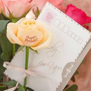 花束「レター・ローズ〜バラに気持ちを託して〜」