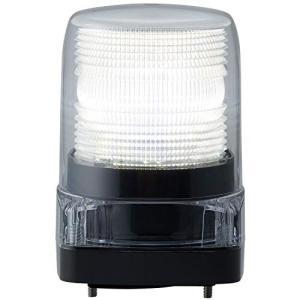 パトライト LEDフラッシュ表示灯DC12V 白 LFH-12-C|ea-s-t-store