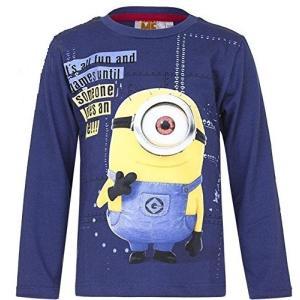 怪盗グルーの月泥棒 Despicable Me Minions ミニオンズ Tシャツ 子供服 長袖 5202B [並行輸入品]|ea-s-t-store