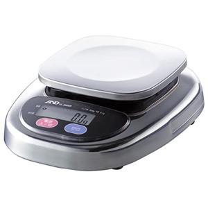 A&D 防塵・防水デジタルはかり HL-300WP ひょう量:300g 最小表示:0.1g 皿寸法:128(W)*128(D)mm|ea-s-t-store