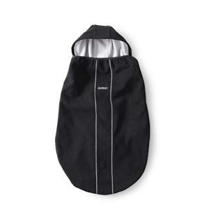 ベビービョルン 【日本正規品保証付】 ベビーキャリアカバー ブラック(スナップボタン付き) 0か月 ea-s-t-store