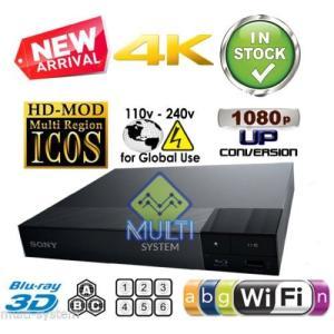 Sony リージョンフリー DVD・ブルーレイプレーヤー 無線LAN内蔵(Wi-Fi) 4K対応 3D再生 日本語メニュー BDP-S6500 [並行輸|ea-s-t-store