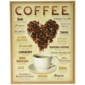 ◎ブリキ看板 プレート 【COFFEE】 コーヒーブランド ティンパネル|ea-s-t-store