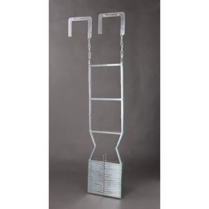 オリロー 避難はしご 折りたたみ式 4型 自在フック|ea-s-t-store