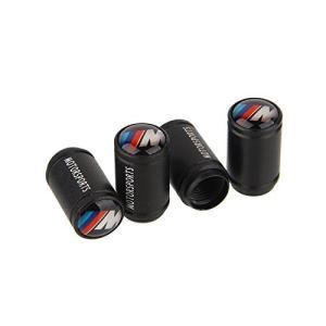 BMW Mロゴ ホイール エア バルブ キャップ 4個セット [並行輸入品]|ea-s-t-store