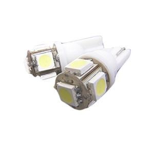 fcl.(エフシーエル) SMDLED 5連 ホワイト T10 2個セット|ea-s-t-store