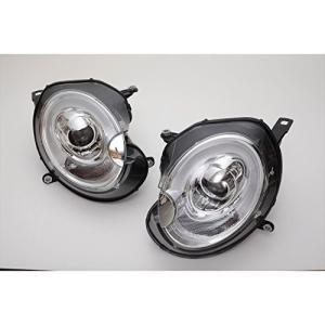 ヘッドライト LEDホワイトライトバー デイライトスタイル クローム BMW ミニ R55/R56 20062012 ハロゲン車用 SONAR(ソナ|ea-s-t-store