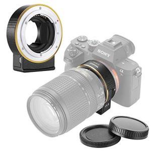 Neewer 電子AFレンズマウントアダプター オートフォーカス絞り制御 Nikon fレンズをSo...