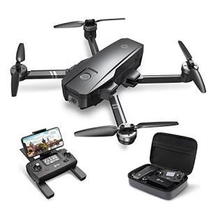 Holy Stone ドローン GPS搭載 折り畳み 4K広角カメラ付き フライト時間26分 ブラシレスモーター 収納ケース付き オ|ea-s-t-store