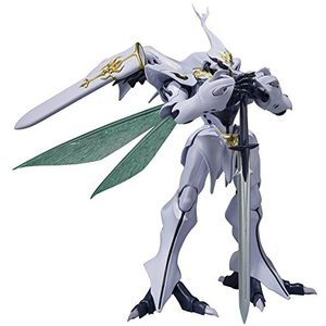 ROBOT魂 New Story of Aura Battler DUNBINE [SIDE AB] サーバイン 約145mm PVC&ABS製 塗装済み可動フィギュア|ea-s-t-store