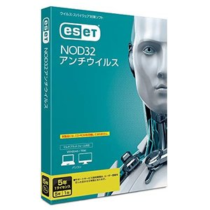 ESET NOD32アンチウイルス(最新)1台5年版Win/Mac対応|ea-s-t-store
