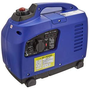 バイクパーツセンター インバーター発電機 900W SF-1000F エコロジー&エコノミー ブルー 909906|ea-s-t-store