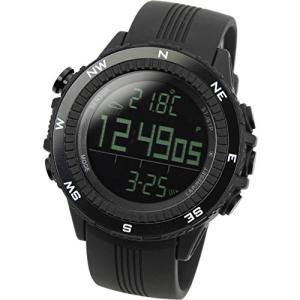 [ラドウェザー]腕時計 ドイツ製センサー 高度/気圧/温度/天気 アウトドア 登山 マラソン スポーツ時計 ea-s-t-store