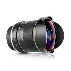 NEEWER Canonデジタル一眼レフカメラ用プロ8mm F/3.5非球面HD魚眼レンズ レンズ保護キャップ、キャリングバッグと|ea-s-t-store