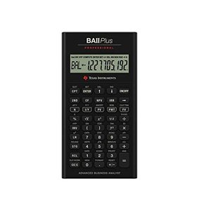 Texas Instruments BA II Plus Professional Financial Calculator [並行輸入品]|ea-s-t-store