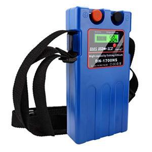 ダイワ シマノ 電動リール用 DN-1700NS スーパーリチウム 互換バッテリー 充電器 セット 14.8V 10400mAh 大容量 (14000mah|ea-s-t-store