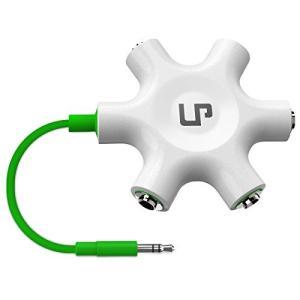 マルチイヤホンスプリッター、LP3.5mm ステレオオーディオ スプリッターケーブル 3.5mm1線...