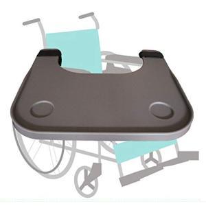 【iMakim's】 車いす用テーブル マジックテープ式 簡単に車椅子と一体化 軽量ABS樹脂