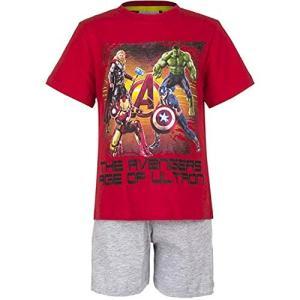 2077R Marvel Avengers マーベル アベンジャーズ パジャマ 上下セット Tシャツ 半袖 [並行輸入品] ea-s-t-store