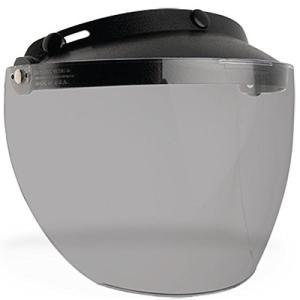 BELL ベル Custom500/Shorty/RT ヘルメット用 3 Snap Flip Visor 3スナップ フリップ バイザー スモーク [並行輸入品]|ea-s-t-store