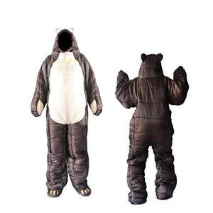 着る寝袋 歩ける寝袋 人型 動ける寝袋 シュラフ 冬用 男女兼用 3サイズ (適応身長150cm190cm)|ea-s-t-store