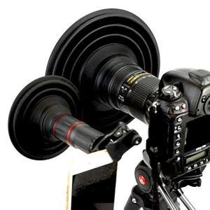 ULH Combo レンズフード 夜景撮影 窓ガラスの向こうの景色をクリア撮影 映り込み防止 簡単装...