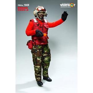 1/6 フィギュア 用 アクセサリー/VERYHOT 1043E アメリカ軍 空母地面作業員 FLIGHT DECK CREW 服セット(ヘッドと素体は含|ea-s-t-store