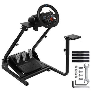 MINNEER Racing Wheel Stand レーシングホイールスタンド ハンドル スタンド レーサーシミュレーター レースシミュレ|ea-s-t-store