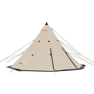 Naturehike 正規店ワンポールピラミッドテント3-4/5-8人用マルチパーソンに適したオクタゴンピラミッドテント4シ ea-s-t-store