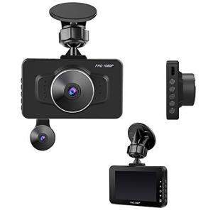 KEIAN サブカメラ一体型広角ドライブレコーダー KDR-E10 ブラック|ea-s-t-store
