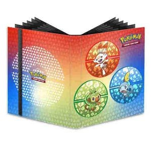 3526 ポケモン カードゲーム・バインダー 9ポケット UP - 9-Pocket Pro-Binder Pokemon Sword and Shield Galar Starters [並行|ea-s-t-store