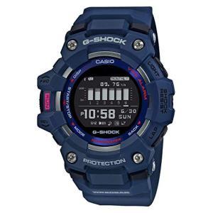 [カシオ] 腕時計 ジーショック G-SQUAD GBD-100-2JF メンズ ブルー ea-s-t-store