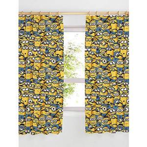 3789 ミニオンズ Despicable Me Minions カーテン 幅168(幅84が2枚) x 高さ137cm [並行輸入品] ea-s-t-store