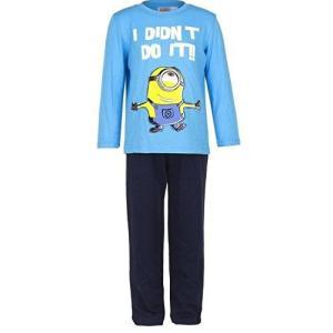 怪盗グルーの月泥棒 Despicable Me Minions ミニオンズ Tシャツ パジャマ 長袖 上下セット 子供用  2005B [並行|ea-s-t-store