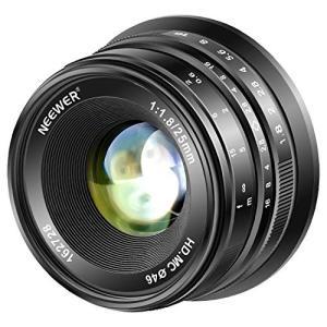 Neewer 25mm f/1.8大口径広角レンズ マニュアルフォーカスプライム固定レンズ Olym...