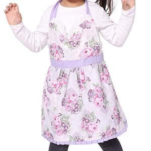 【可愛い】ドレスのようなエプロンです。水玉やチュールなどの素材があり、とても可愛い・きれいです! 【...