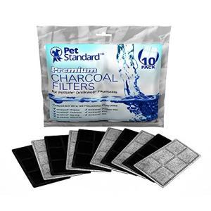 木炭使用の高品質な浄水装置 ドリンクウェル・ファウンテン用 10個パック ホワイト (並行輸入) [並行輸入品]|ea-s-t-store