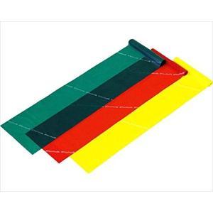 3種類の強度が試せる3色セット  サイズ:幅13cm×長さ1.5m  素材:天然ゴム  内容量:黄・...