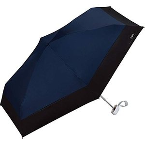 3〜5日で発送ワールドパーティー(Wpc.) 日傘 折りたたみ傘 ネイビー 47cm レディース 傘袋付き 遮光切り継ぎタイニー 801-6423 N|eagle8532