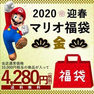福袋2020 マリオ福袋 金(12点入り)