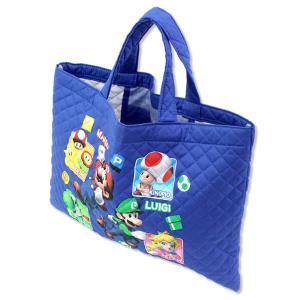 (ゆうパケット送料256円)スーパーマリオのレッスンバッグ。...