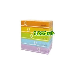 返品可 レビューで次回2000円オフ イットコ ティシュ(5箱入*12セット) 日用品 ペーパー類(紙用品) ティッシュ|eagleeyeshopping