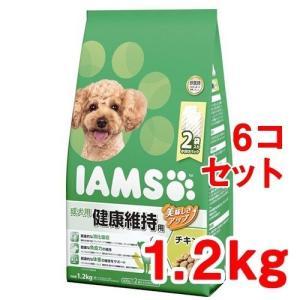 レビューで次回2000円オフ アイムス 成犬用 健康維持用 チキン 小粒(1.2kg*6コセット) ペット用品 犬用食品(フード・おやつ) プレミアム・ドッグフード|eagleeyeshopping