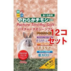 レビューで次回2000円オフ パスチャーチモシーソフト(400g*12コセット) ペット用品 小動物用品 ウサギ用品|eagleeyeshopping