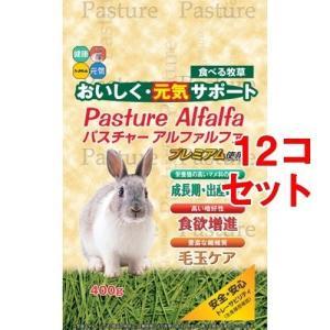 レビューで次回2000円オフ パスチャーアルファルファ(400g*12コセット) ペット用品 小動物用品 ウサギ用品|eagleeyeshopping