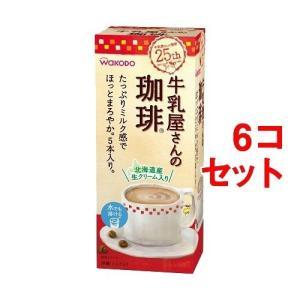 返品可 レビューで次回2000円オフ 牛乳屋さんの珈琲 箱(16.5g*5本入*6コセット) 水・飲料 コーヒー インスタントコーヒー|eagleeyeshopping