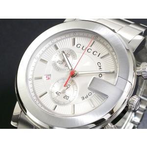 10000円以上送料無料 グッチ GUCCI クロノグラフ 腕時計 YA101339 【腕時計 ハイブランド】 レビュー投稿で次回使える2000円クーポン全員にプレゼント|eagleeyeshopping