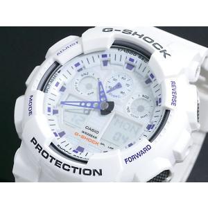 レビューで次回2000円オフ 直送 カシオ CASIO Gショック G-SHOCK アナデジ 腕時計 GA-100A-7A 【腕時計 海外インポート品】